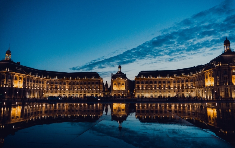The Miroir d'eau… reflect side - Bordeaux Citybreak Roadtrip Escapade Adventure Getaway