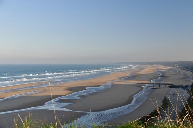 A 6th of June landing beach in Normandy - Homecamper